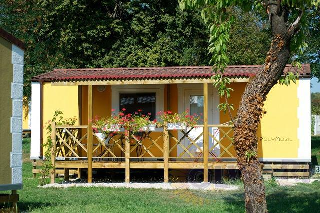 Mobile home mediterranean premium village travel for Mediterranean modular homes