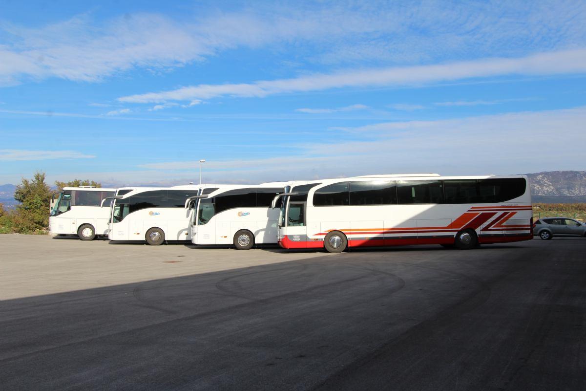 Bus & taxi